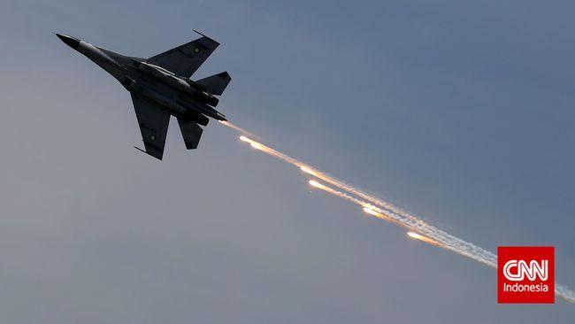 KSAU: Menhan Sudah Teken Pengadaan Jet Tempur Sukhoi Su-35