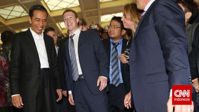 Apa yang akan Dibahas Jokowi di Markas Facebook?