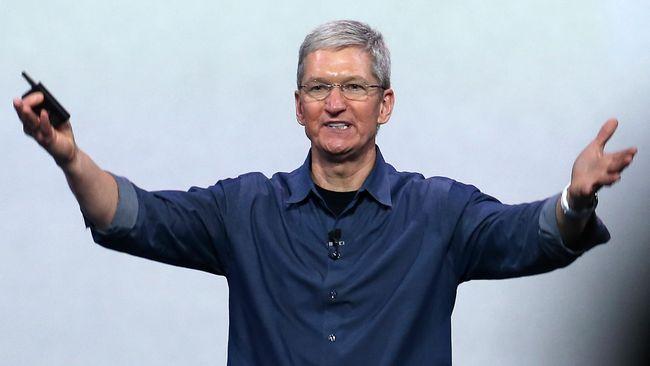 Apple Cetak Rekor Perusahaan Bernilai Rp 8.521 Triliun