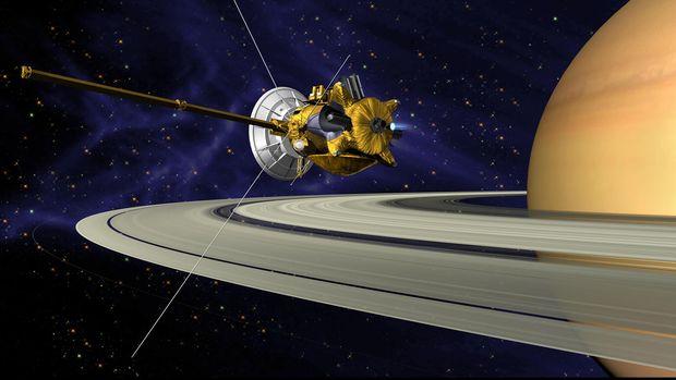 Cassini, Penemu Perairan di Saturnus