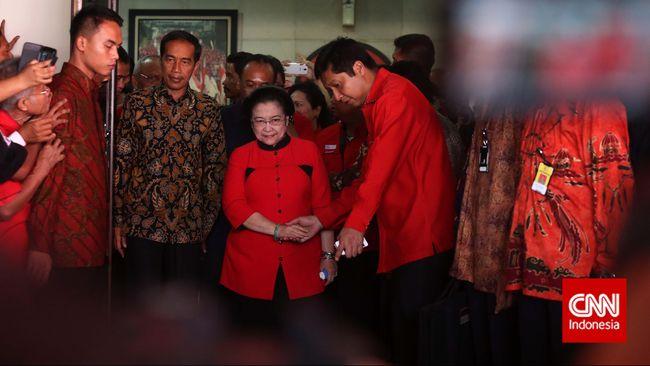 Mega Berhak dan Bebas Sebut Presiden Jokowi Petugas Partai