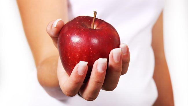 Amankah Konsumsi Apel Berlapis Lilin?