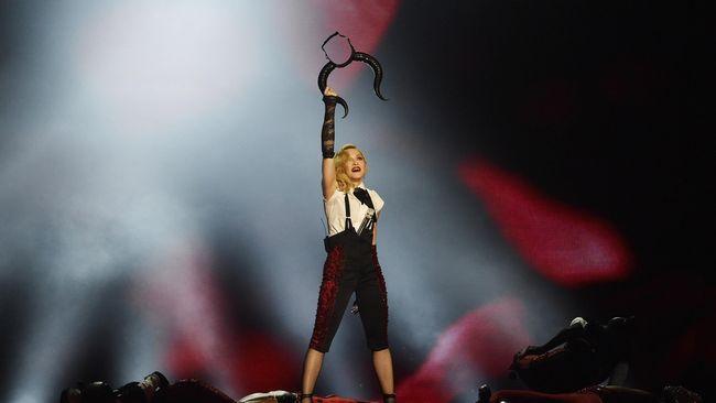 Madonna Siapkan Tur Dunia, Akankah Mampir Indonesia?