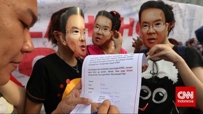Aksi Dukung Ahok Hari Ini, Massa Akan Kepung DPRD
