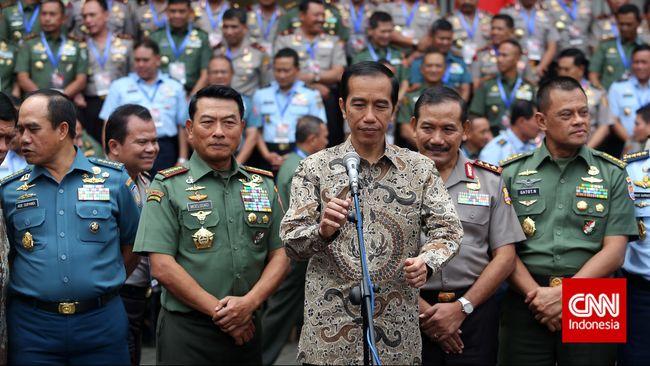 Ada Kewenangan Jokowi yang Diambil Panglima TNI
