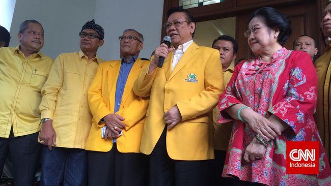 GOLKAR Abang & Agung Laksono Sudah sungkem ke Megawati, Nyatakan Kesetiaan?