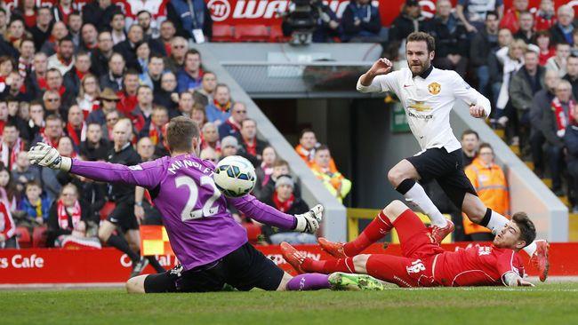Babak Pertama: MU Ungguli Liverpool 1-0