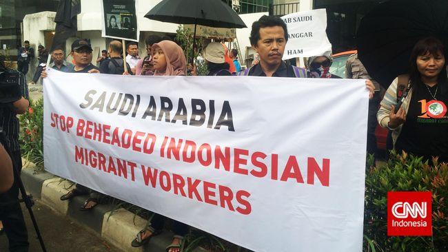 Demonstrasi Di Kedutaan Arab Saudi Jakarta Jumat 174 Memprotes
