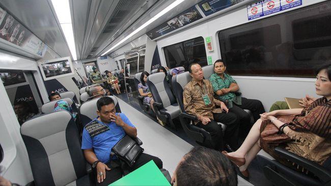 Tarif Kereta Bandara Soekarno-Hatta Dipatok Rp100 ribu Lebih