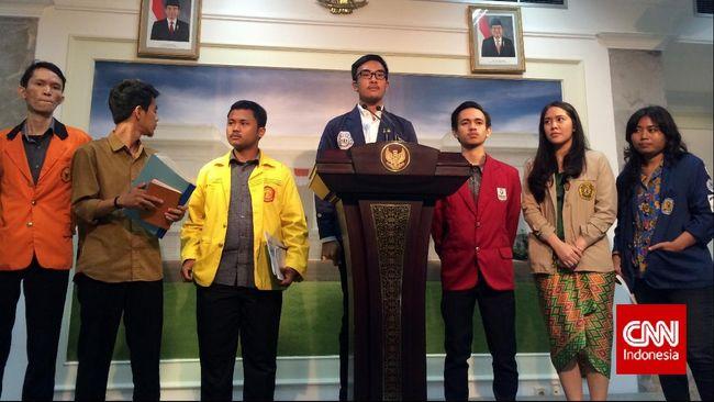 Tiga Janji Jokowi Tak Urungkan Niat Mahasiwa Turun ke Jalan