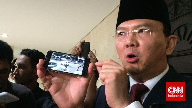 Ahok Siap Pasangi Jakarta 4.800 CCTV Tahun Ini