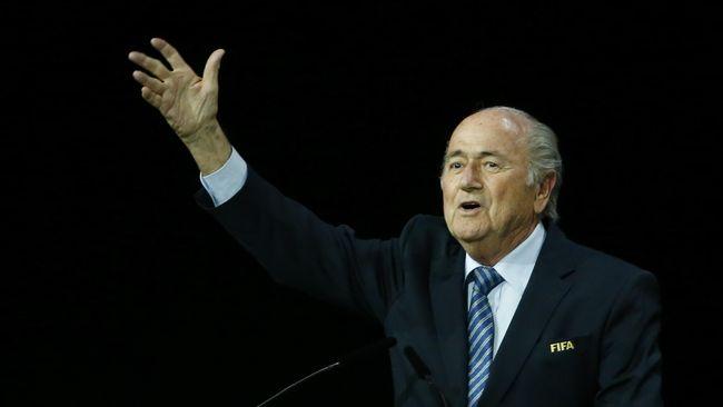 Blatter: FIFA Tak Butuh Revolusi, Tapi Evolusi