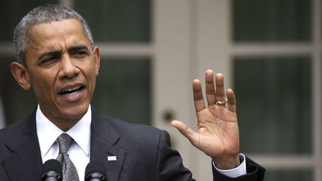 Obama Terpeleset Lidah, Bilang AS Melatih ISIS