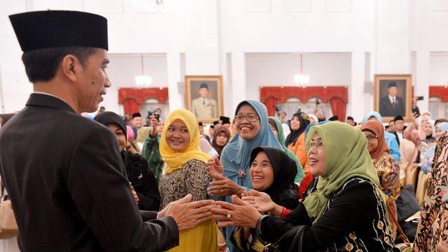Jokowi Sentil Penyerapan Anggaran di Peringatan Nuzulul Quran