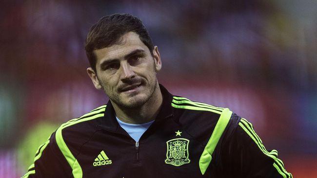 Del Bosque: Iker Casillas Adalah Legenda Sepak Bola Modern