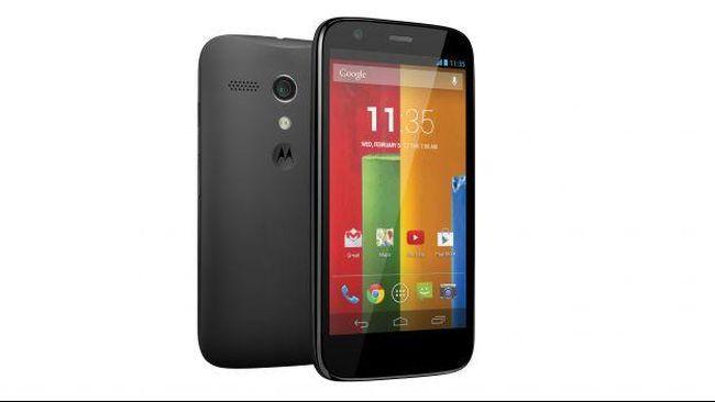 Motorola Segarkan Ponsel Android Murah Tahan Air