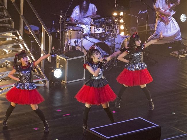 Warner Bros. Garap Serial Live-Action Babymetal