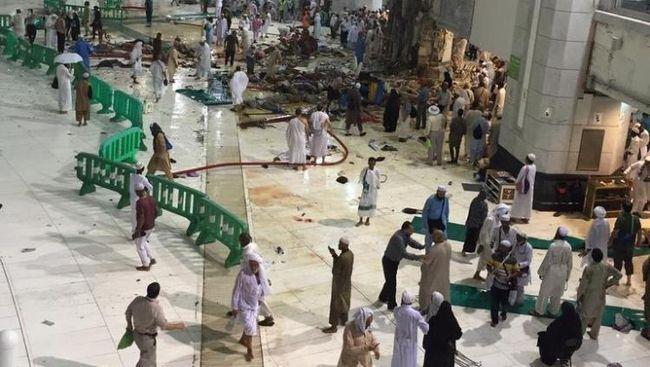 Total Korban Jiwa dalam Tragedi Mekkah Mencapai 87 Orang
