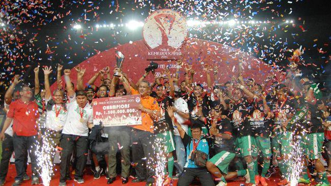 PSMS Juara Piala Kemerdekaan 2015