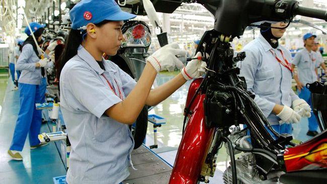 Industri Manufaktur Sedang dan Besar Naik 4,57 Persen