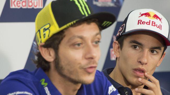 Rossi Ungkap Alasan Jabat Tangan Marquez