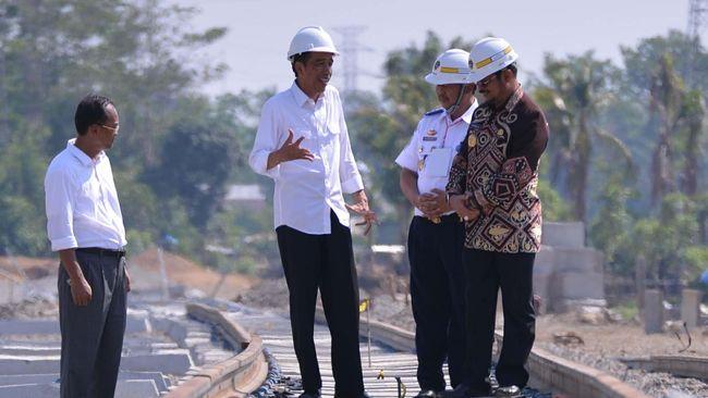 Ditinjau Jokowi, Rel Kereta Trans Sulawesi Baru Selesai 16 Km