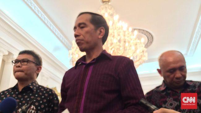 Jokowi Minta Masyarakat Tenang dan Tak Takut Hadapi Teror