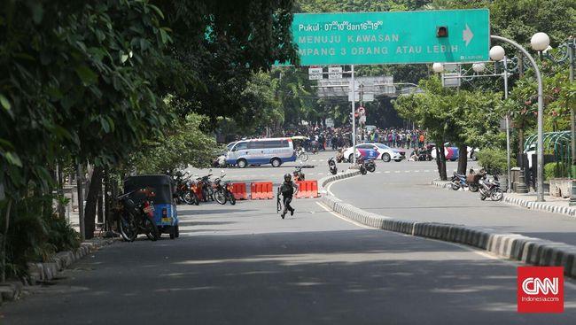 Pengeboman di Thamrin, Keamanan Istana Diperketat