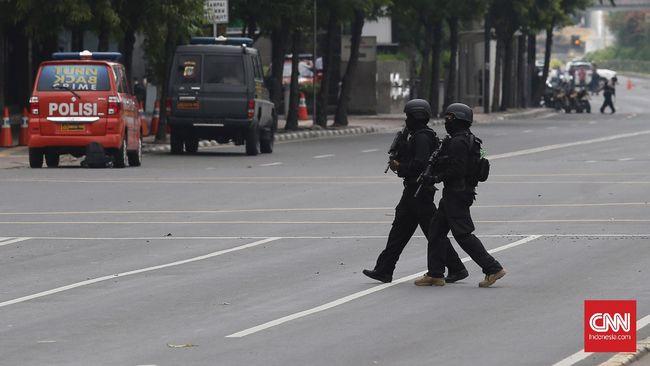 Serangan di Thamrin Telah Diwaspadai Sejak Desember Lalu