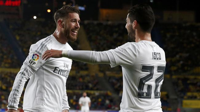 Ramos Berharap Isco Tetap di Real Madrid
