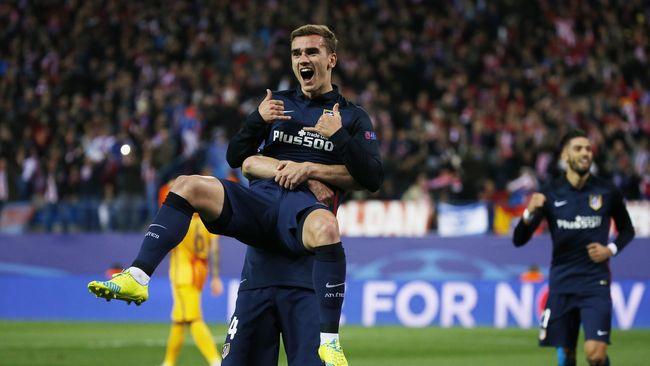 Griezmann Bawa Atletico ke Semifinal