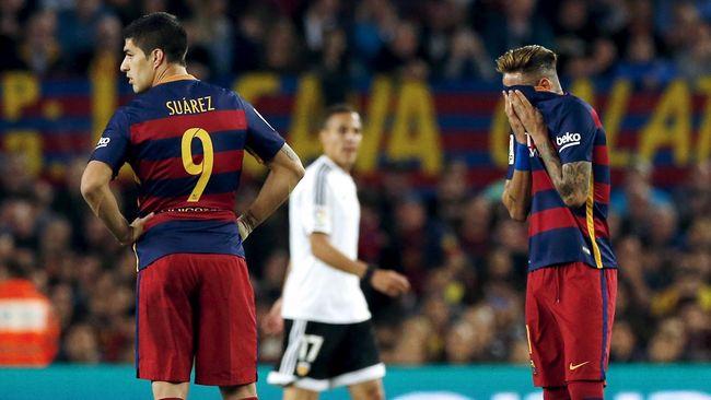 Lagi Lagi Barcelona Kalah Dalam Pertandinganya