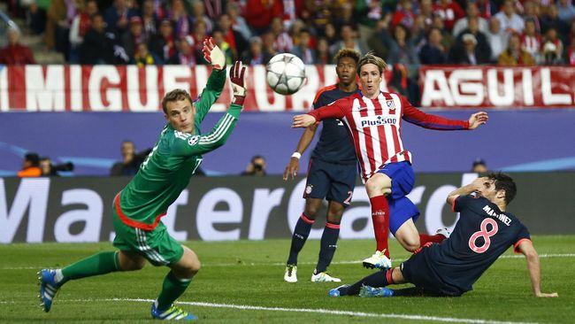 Atletico Mengalahkan Munich