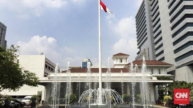 Kebakaran di Kantor Gubernur Jakarta Hanguskan Satu Ruangan
