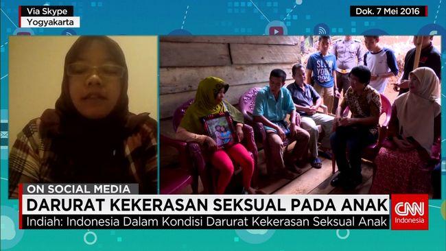 CNN Indonesia Detail: Maraknya Kasus Kekerasan Seksual Pada Anak