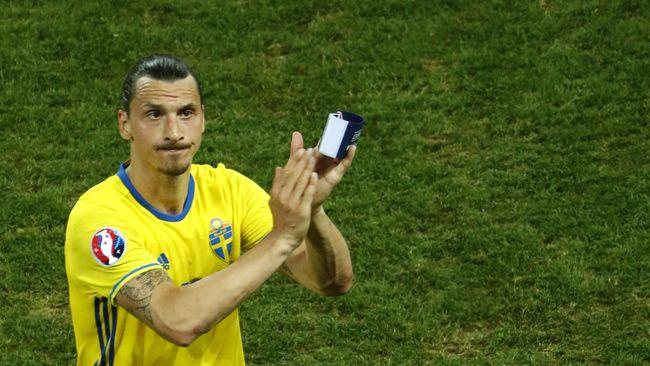 Eriksson: Pensiunnya Ibrahimovic Jadi Kerugian Besar Swedia
