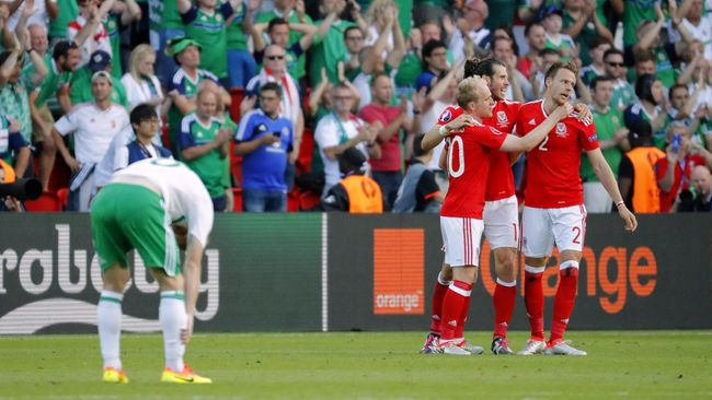 Suporter Irlandia Sindir Wales Soal Brexit