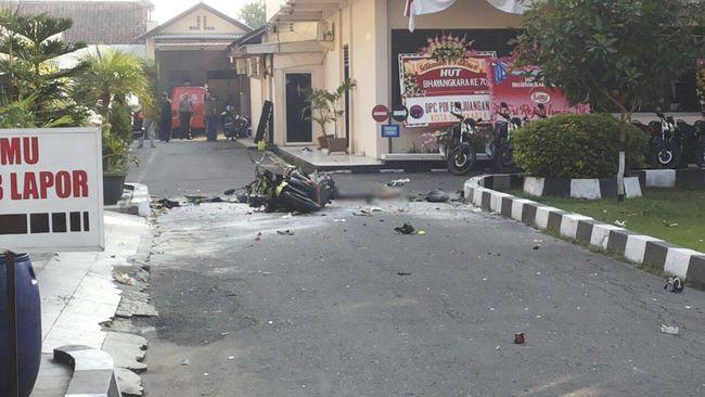 Bom Bunuh Diri Solo Diduga Terkait Jaringan Teroris Surabaya