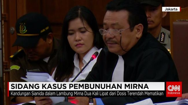 CNN Indonesia Detail: KASUS PEMBUNUHAN MIRNA