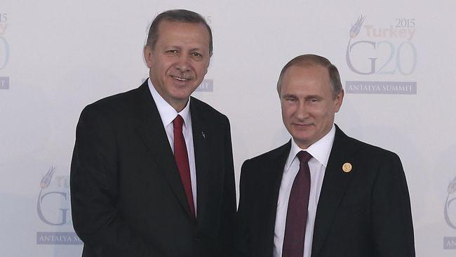 Erdogan: Saya Akan Buka Lembaran Baru dengan Putin