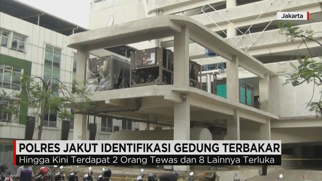 CNN Indonesia Detail: Polisi Identifikasi Penyebab Kebakaran Di Kelapa Gading