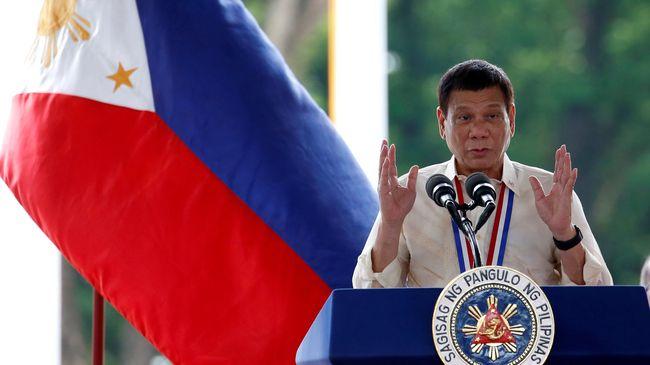 Duterte Peringatkan Kemungkinan Perang Sipil di Mindanao