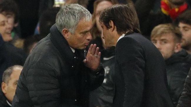 Del Bosque Juga Membela Mourinho Terkait Selebrasi Conte