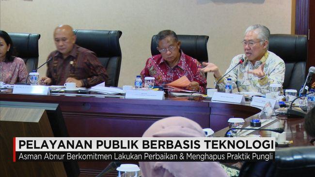 CNN Indonesia Detail: Menteri PAN-RB Luncurkan Puluhan Pelayanan Publik