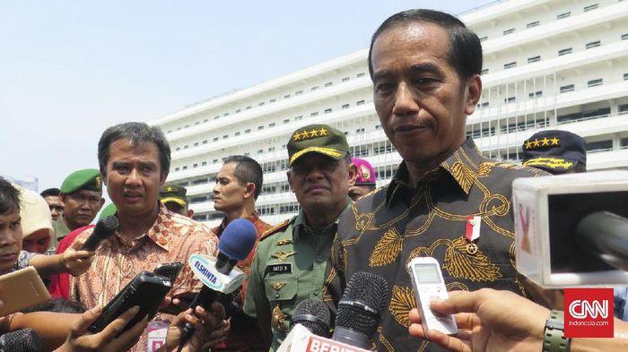 CNN Indonesia Detail: Ragam Ekspresi Jokowi Menyikapi Persoalan Ahok