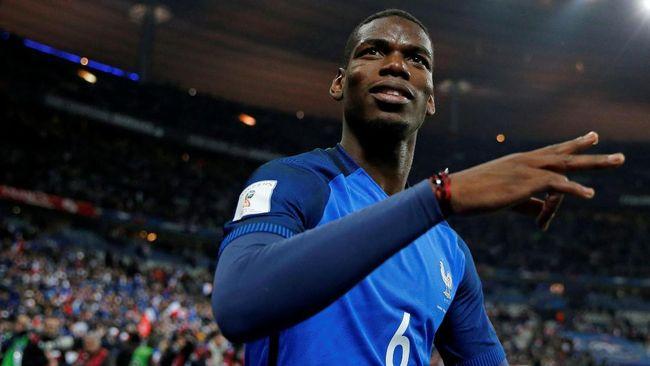 Perancis Tekuk Inggris dengan 10 Pemain
