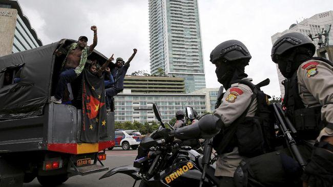 Demonstran Referendum Papua: Kami Dipukuli Aparat