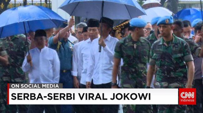 CNN Indonesia Detail: Atribut Jokowi Kembali Viral Di Media Sosial