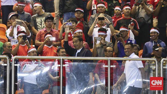 (PIC:Pemerintah Indonesia Berharap Timnas Indonesia Juara Piala AFF)