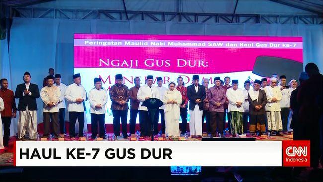 CNN Indonesia Detail: Presiden Jokowi Minta Ketiga Paslon DKI Akur